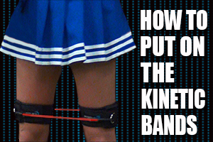 How To Put On Kinetic Bands