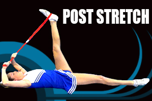 Post Workout Stretch Using The Stunt & Flexibility Strap