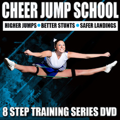 8 Cheer Training Segments including: How To Put On The Kinetic Bands, Dynamic Warm-up, Range Of Motion, Strength, Plyometrics, Abdominals, Jump Specific, and Post Stretch.