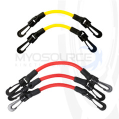 Includes one set each of Youth Yellow/Beginner and Youth Red/Advanced resistance bands.