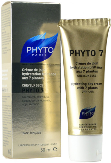 PHYTO 7 Hydrating Day Cream with 7 Plants 1.70 oz (Pack of 3) Hydrating Toner with Antioxidants