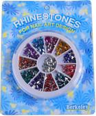 Berkeley 12 Color Rectangular Rhinestone Set