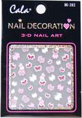 Cala Glitter Butterflies 3D Nail Decal