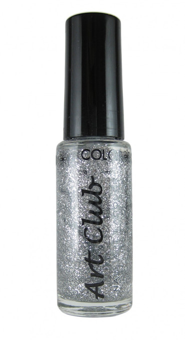 Silver Glitter by Art Club