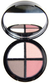 Bella Seta Eye Shadow Quad: Fashionista by Mistura Makeup