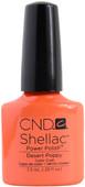 CND Shellac Desert Poppy (UV Polish)