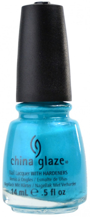 China Glaze Turned Up Turquoise (Neon), Free Shipping at Nail Polish ...