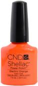 CND Shellac Electric Orange (UV Polish)