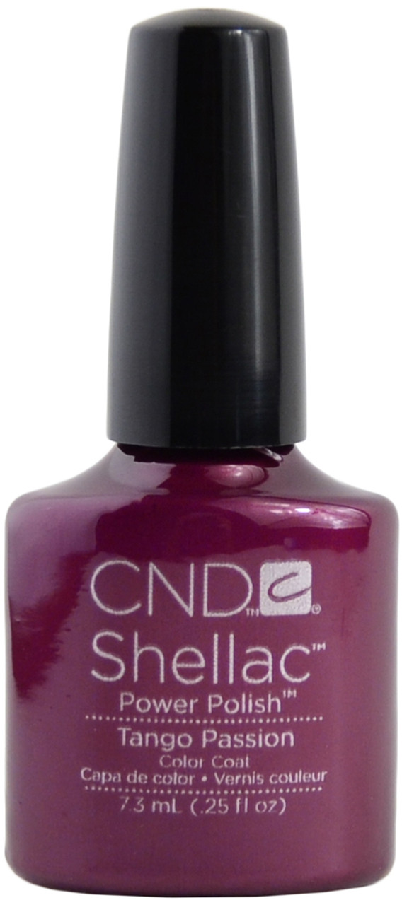 Cnd Shellac Tango Passion Uv Polish Free Shipping At Nail Polish Canada