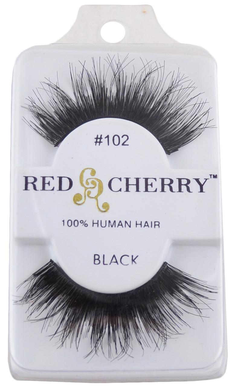 #102 Red Cherry Lashes, Free Shipping at Nail Polish Canada