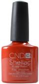 CND Shellac Fine Vermillion (UV / LED Polish)