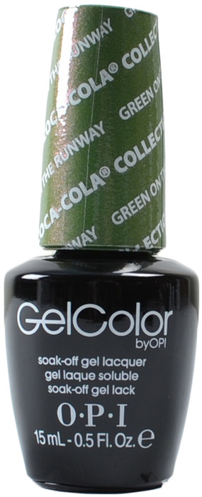 OPI GelColor Green On The Runway (UV / LED Polish)