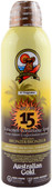 Australian Gold Sunscreen Continuous Spray w/ Bronzer SPF 15 (6 fl. oz. / 177 mL)
