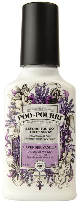 Large Lavender Vanilla Poo-Pourri Before You Go Toilet Spray (4 fl. oz. / 118 mL)