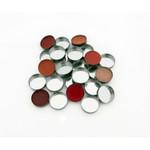 Mini 10 Round Metal Pans by Z Palette