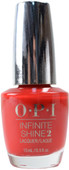 OPI Infinite Shine Unequivocally Crimson (Week Long Wear)