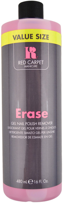 Red Carpet Manicure Value Size Erase Gel Nail Polish Remover (16 fl. oz. / 480 mL)