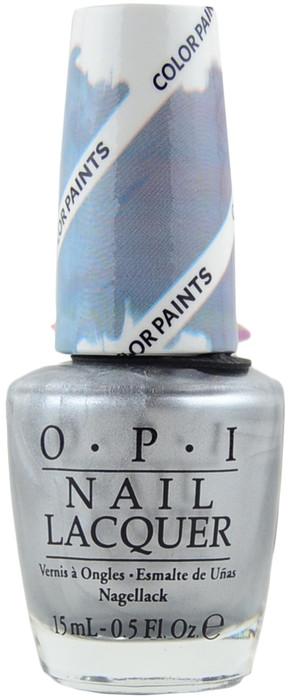opi silver canvas color paint free shipping at nail polish canada