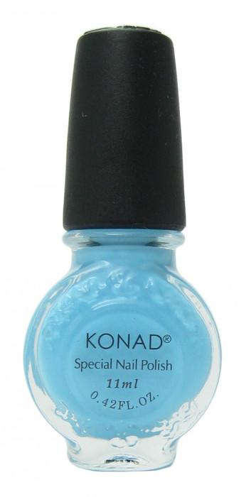 Pastel Blue (Special Polish) by Konad Nail Stamping