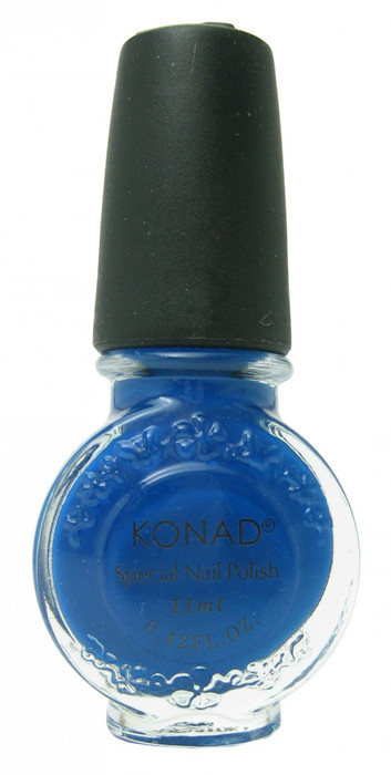 Blue (Special Polish) by Konad Nail Stamping