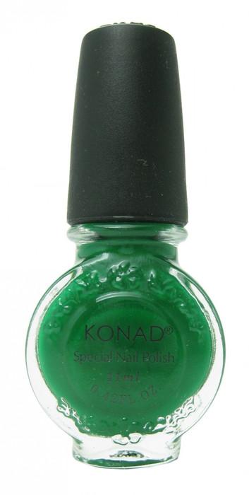 Green (Special Polish) by Konad Nail Stamping