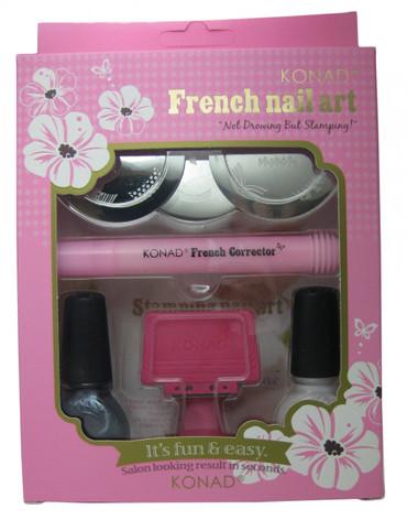 French Nail Art Stamping Kit By Konad