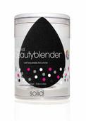 Beauty Blender Single Black Pro Sponge & Mini Solid Blender Cleanser Set