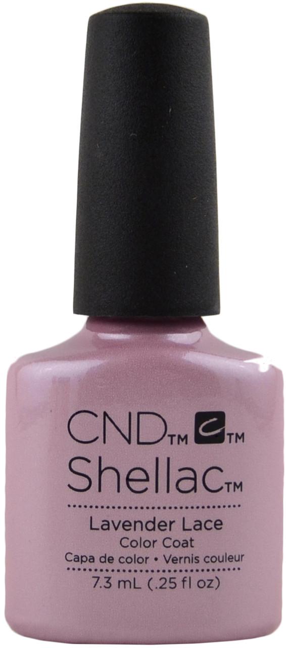 24 Shellac Nail Art Designs Ideas: CND Shellac Lavender Lace (UV / LED Polish), Free Shipping
