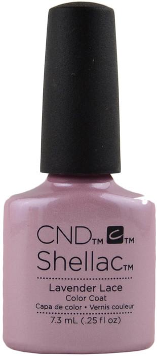 cnd shellac lavender lace  uv    led polish   free shipping