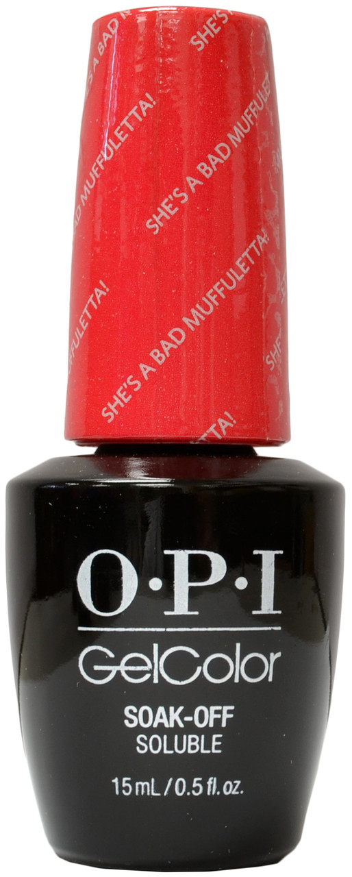 Opi Gelcolor She S A Bad Muffuletta Free Shipping At