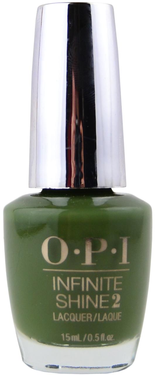 Opi Infinite Shine Olive For Green Week Long Wear Free Shipping