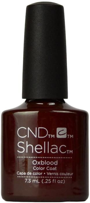CND Shellac Oxblood (UV / LED Polish)
