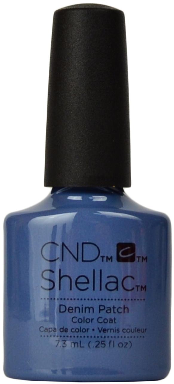 24 Shellac Nail Art Designs Ideas: CND Shellac Denim Patch (UV / LED Polish), Free Shipping