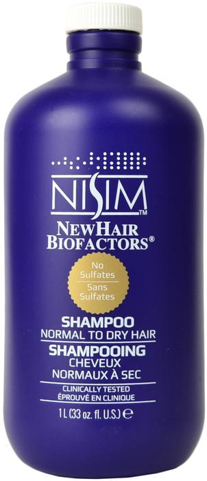 NISIM Normal To Dry Hair Sulfates Free Shampoo (33 fl. oz. / 1 L)