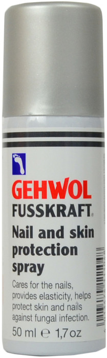 Gehwol Fusskraft Nail And Skin Protection Spray (1.7 oz. / 50 mL)