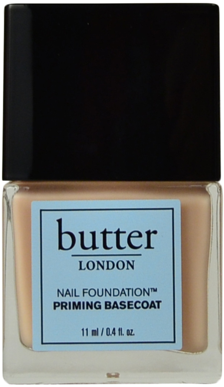 Butter London Nail Foundation Priming Basecoat (0.4 fl. oz. / 11 mL ...