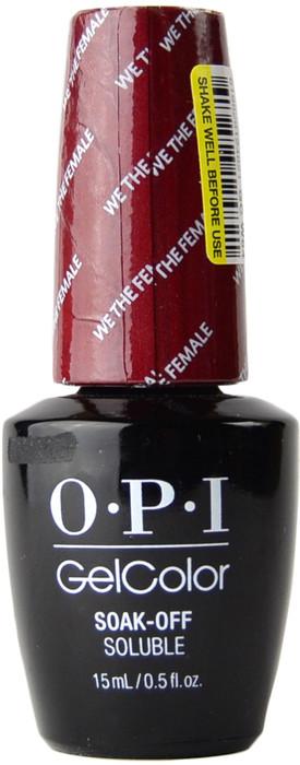 OPI Gelcolor We The Female (UV / LED Polish), Free ...