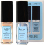Butter London Dynamic Duo Base & Topcoat Set (2 x 0.1 fl. oz. / 4 mL)