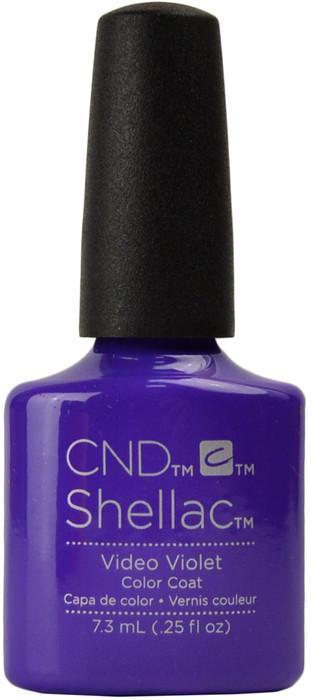 24 Shellac Nail Art Designs Ideas: CND Shellac Video Violet (UV / LED Polish), Free Shipping