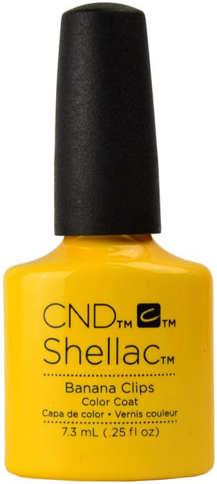 CND Shellac Banana Clips (UV / LED Polish)