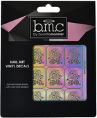 Bundle Monster Rose Blooms Holographic Nail Art Vinyl Decals