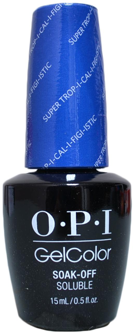Opi Gelcolor Super Trip I Cal I Fiji Istic Uv Led Polish Free Shipping At Nail Polish Canada