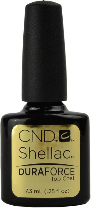 CND Shellac UV Top Coat - DuraForce (0.25 fl. oz. / 7.3 mL)