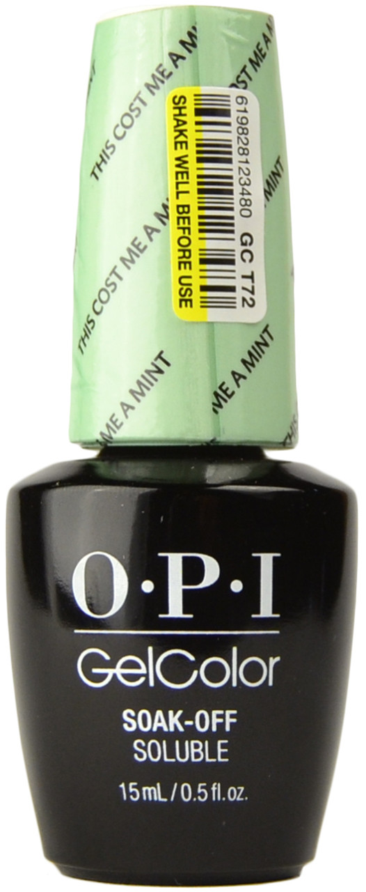 OPI Gelcolor This Cost Me A Mint (UV / LED Polish), Free