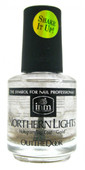 INM Out The Door Hologram Gold Top Coat (0.5 fl. oz. / 15 mL)