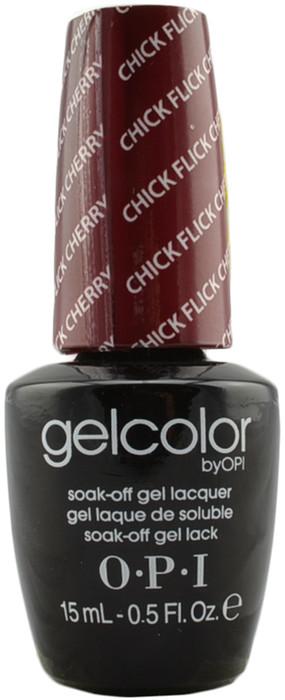 OPI GelColor Chick Flick Cherry (UV / LED Polish)