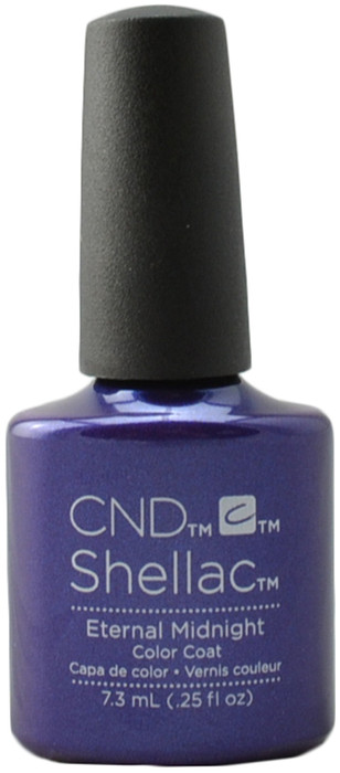 24 Shellac Nail Art Designs Ideas: CND Shellac Eternal Midnight (UV / LED Polish), Free