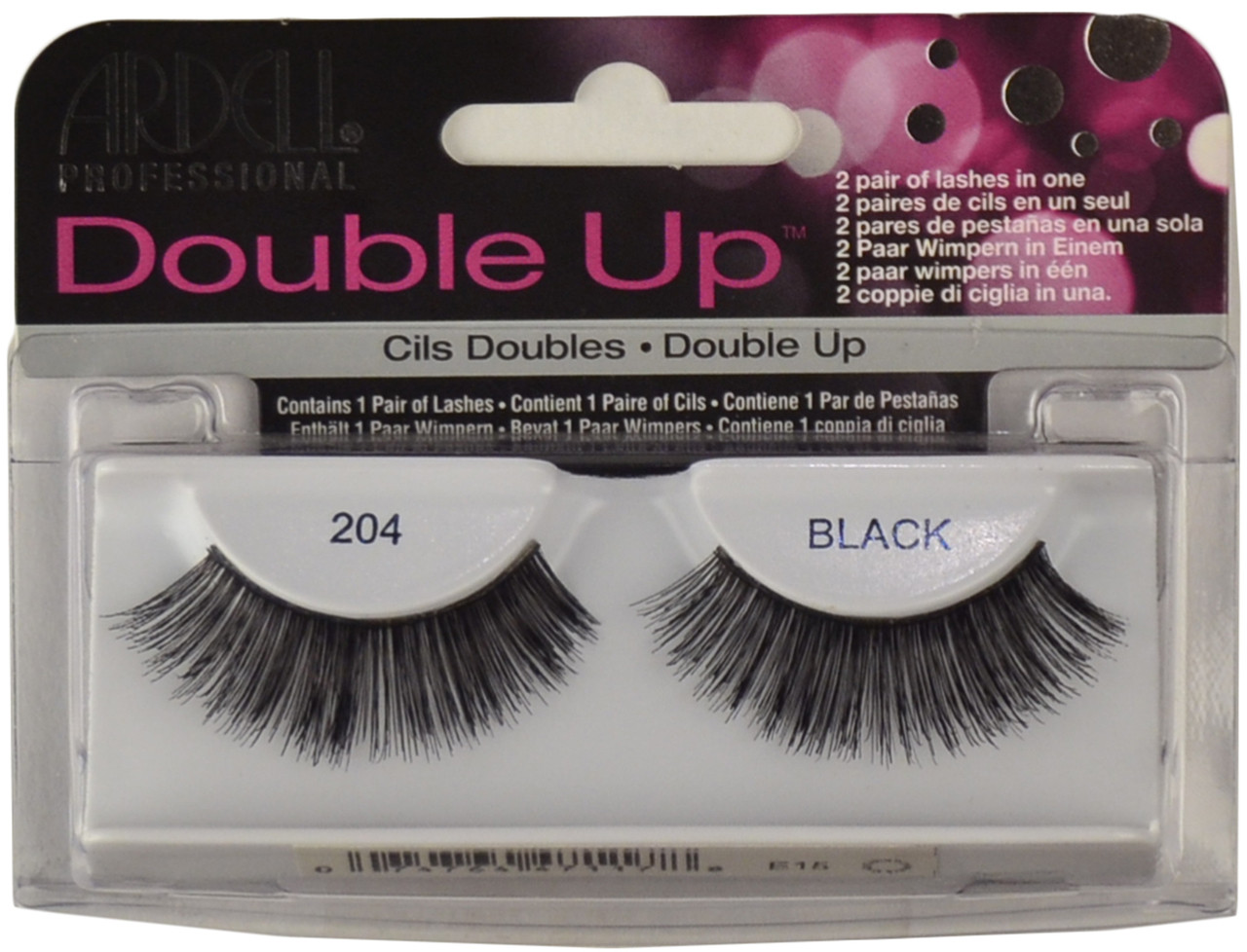 ea7baa8f408 Ardell Lashes Double Up 204 Black Ardell Lashes, Free Shipping at ...