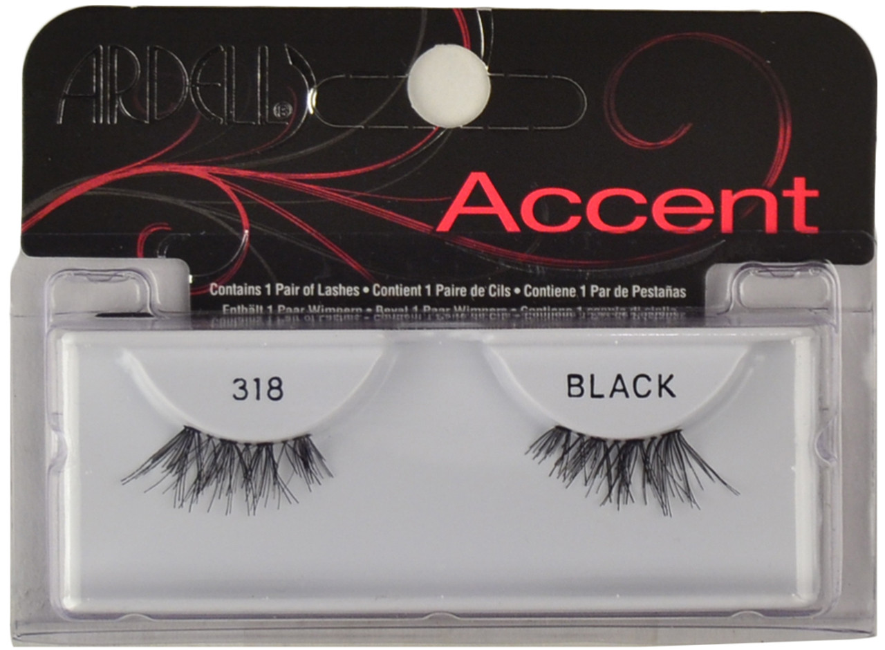 5d9e485d071 Ardell Lashes Accent 318 Black Ardell Lashes, Free Shipping at Nail ...