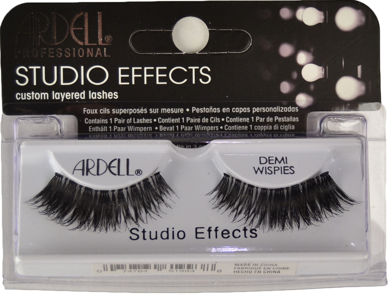 262abc33519 Ardell Lashes Studio Effects Demi Wispies Black Ardell Lashes. Loading zoom